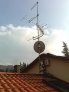 Antenne TV Via San Mamolo - Bologna zona colli - ANTENNISTA