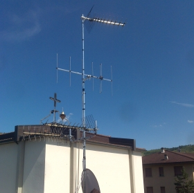 Antenna TV , Chiesa di Carteria , Pianoro Bologna - ANTENNISTA